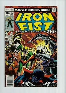 IRON-FIST-15-FN-VF-7-0-X-Men-cover-and-x-over