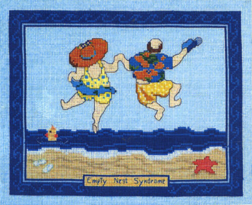 Counted Cross Stitch Kit ~ Candamar Empty Nest Syndrome Picture #51354