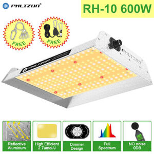 600W LED Grow Light Lamp Replace HPS HID Sunlike Full Spectrum Veg Bloom Hydropo