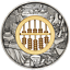 In-Stock-2019-ABACUS-2oz-9999-SILVER-2-ANTIQUED-COIN thumbnail 1