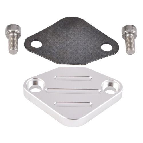For Chevy Nissan Altima Maxima EGR Valve Delete Block off Plate w// Screws Kit