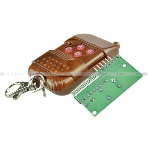 433//315MHZ IC2262//2272 4 Channel Wireless Remote Control Kits 4 Key Wireless
