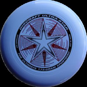 NG Discraft Ultimate Frisbee Ultrastar 175g HELLBLAU Wettkampf/Freizeit Scheibe