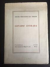Genaro Estrada Fernandez Mac Gregor Fabula Miguel N. Lira Mexico