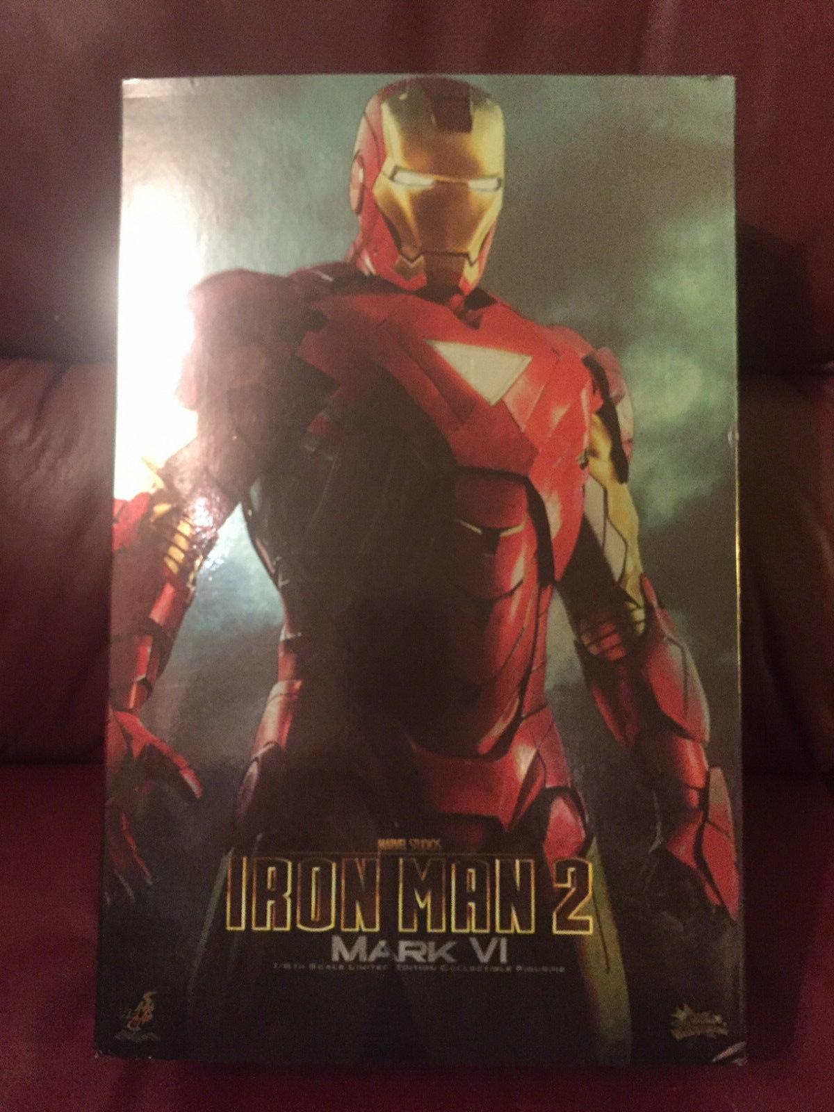 Hot Toys - Iron Man Mark VI - Mark 6 - 1 6 Scale Figure