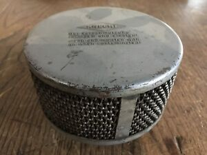 Early-Round-Knecht-Air-Filter-for-Porsche-356-32NDIX-Carb