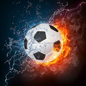 Wandaufkleber-Deko-Ballon-Fussball-ref-11080-11080