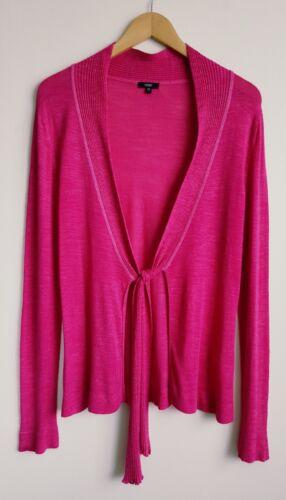 Pink 12 Cardigan Size Ladies Hobbs Blend Linen gnxZ5PF
