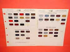 1986 CHRYSLER EXECUTIVE LIMO LEBARON DODGE 600 CONVERTIBLE PLYMOUTH PAINT CHIPS