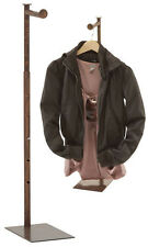 Costumer Clothing Display Stand Handbag Clothes 24 To 36 Fluer De Lis Finial