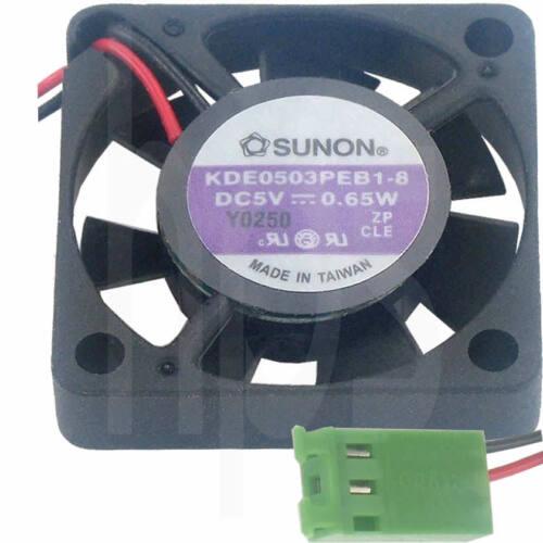 SUNON Lüfter KDE0503PEB-8 30x30x6mm 5V DC 0,56W Kugellager Neuware ohne Rohs