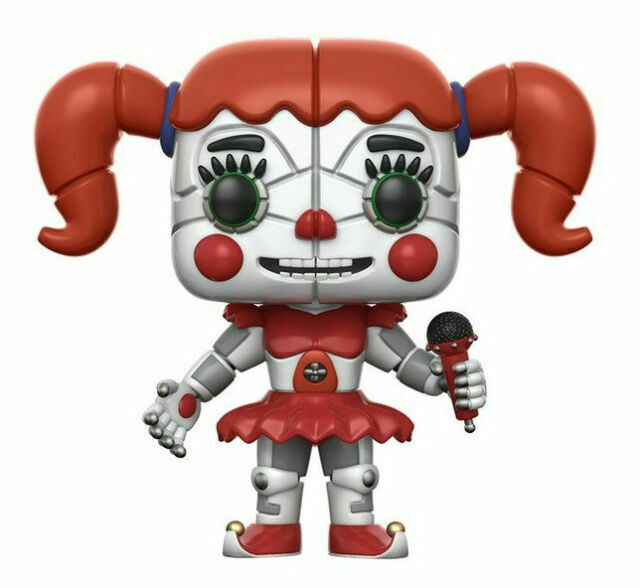Funko Action Figure Five Nights at Freddy/'s-Sister Location Funtime Freddy 13741