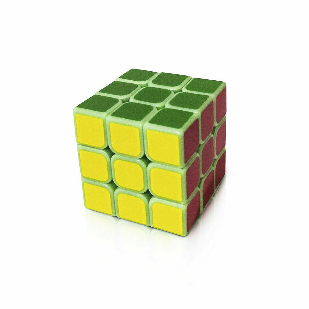 YongJun GuanLong 3x3x3 Speed Puzzle Magic Cube For Toy Gift Clear