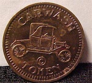 car wash token no cash value 1838c ebay. Black Bedroom Furniture Sets. Home Design Ideas