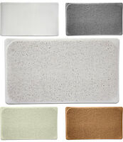 Premium Woven Loofah Non Slip Bathtub Shower Mat - 17.25 X 29.5 5 Colors