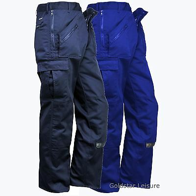 Workwear Azione Pantaloni Knee Pad Tasche Multiple Tasche Con Zip Pantaloni Workwear-mostra Il Titolo Originale