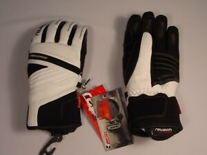 New Reusch Pro Series Leather Ski Gloves Women Sz Small 7 Madenn 4731111s Ebay