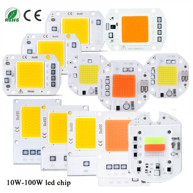 Full Spectrum Multi Color With White 3500k 8 Band 100w Cob Led Grow Light For Sale Online Ebay
