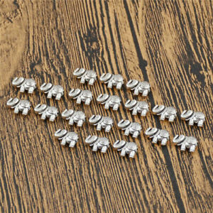 20X-Lots-Tibetan-Silver-Charms-Beads-Elephant-Spacer-for-DIY-Craft-Accessories