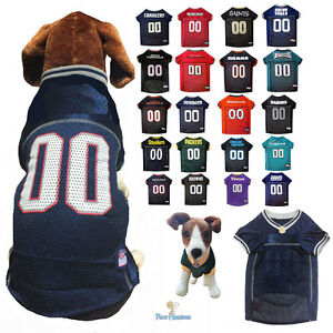 Details about NFL Fan Gear Dog Jersey Shirt for Dogs-ALL TEAMS-PICK YOURS XS-2XL XXL BIG SIZE
