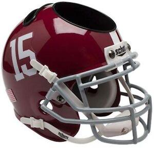 timeless design c25df f6a79 Details about ALABAMA CRIMSON TIDE Football Helmet OFFICE  PEN/PENCIL/BUSINESS CARD HOLDER