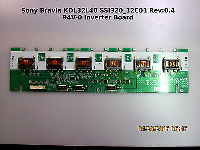"Sony 32/"" KDL-32L4000 KDL-32V4000 LJ97-01564A Backlight Inverter Board Unit"