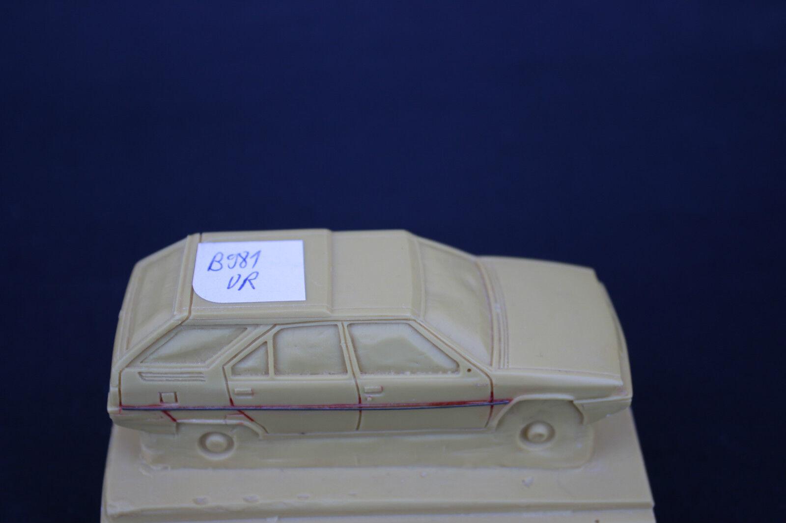 Rare Die Mold Resin Citroen Bx Bx Bx Break Car 1 43 Heco Models Ur 15ccc2