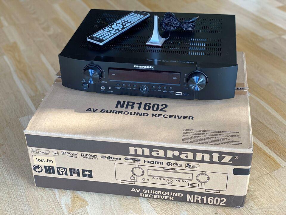 Marantz, NR1602, 7.1 kanaler
