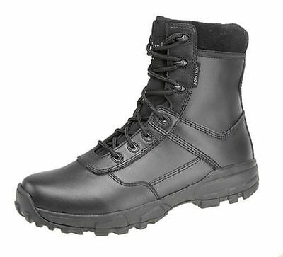 Homme Taille 3 4 5 6 7 8 9 10 11 12 Imperméable Combat Armée Mod Noir Bottes en cuir