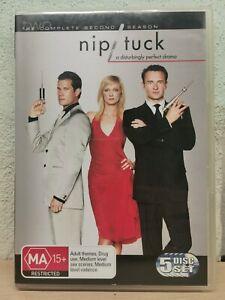 Nip-Tuck-NIP-TUCK-Season-2-DVD-2005-5-Disc-Set-Series-Two
