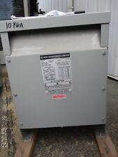 Mgm 10 Kva 1 800 X 240120 Volt Dry Type Transformer Ns T1451