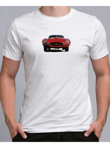 E Type Jaguar T shirt Classic Sports Car jag Mk1 Ideal Show Tshirt Various Cols