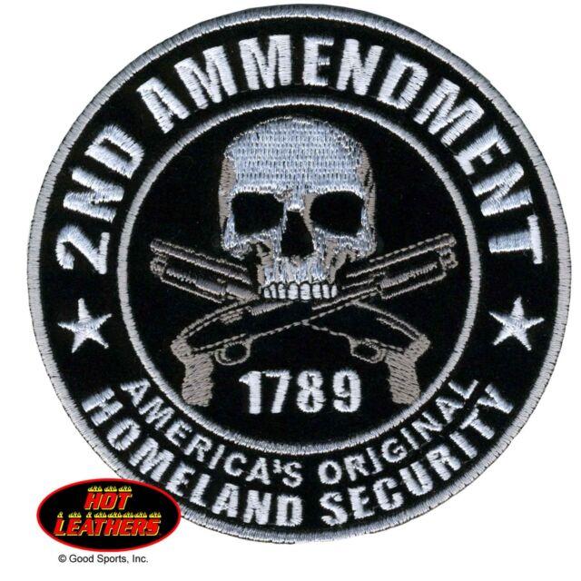 Hot Leathers 2nd Amendment Gun Permit Take Biker 100/% Cotton TShirt Variety NWT