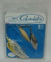 Davis Bait Gamakatsu Hooks 1/2oz Spinner Bait - Pearl Splatter Back Ww