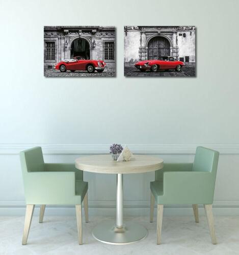 Luxury Car Image Frame Engagement Oldtimer jaguar Red Petrol images