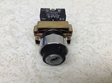 RAAS C&S RB2-BE-101 Key Selector Switch RB2BE101