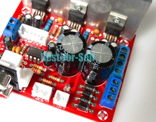 TDA2030A 2.1 3 Channel Stereo Subwoofer Bass Audio Amplifier Board 18Wx2 30W Amp