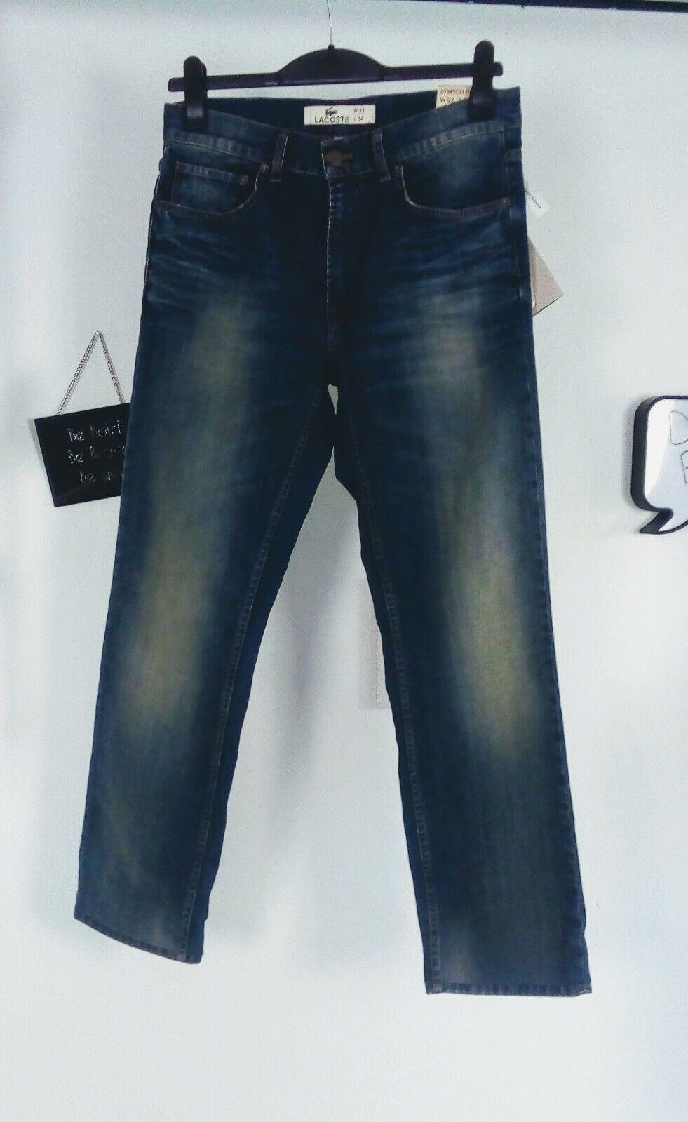 Lacoste mens jeans waist 32 inside leg 30 34 sexy