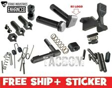 Strike Industries NEW Enhanced Parts Kit - Mspec Lower - With Logo Pivot Pin oop