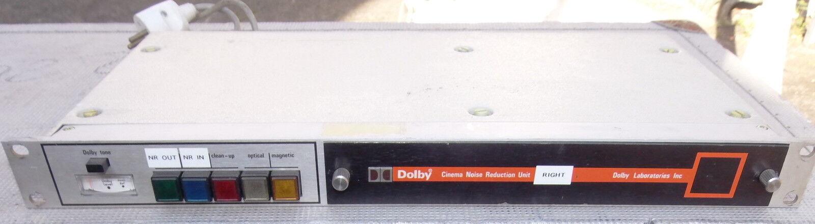 1 DOLBY 364 CINEMA NOISE REDUCTION UNIT  + CARD CAT N 22  SUPER VINTAGE