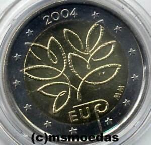 Finnland 2 Euro 2004 Eu Erweiterung Gedenkmünze Euromünze