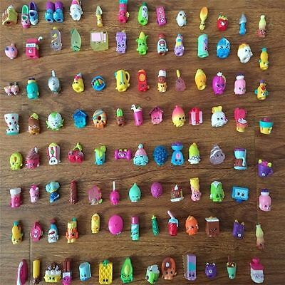 Kids Children Shopkins Season 1 2 3 4 100pcs Lots Mixed Shopkins Toys XAMS Gifts