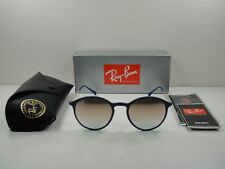 55cea606e8 item 2 RAY-BAN ROUND LIGHTRAY TITANIUM SUNGLASSES RB4224 872 B9 BLUE GOLD  LENS 49MM -RAY-BAN ROUND LIGHTRAY TITANIUM SUNGLASSES RB4224 872 B9  BLUE GOLD LENS ...