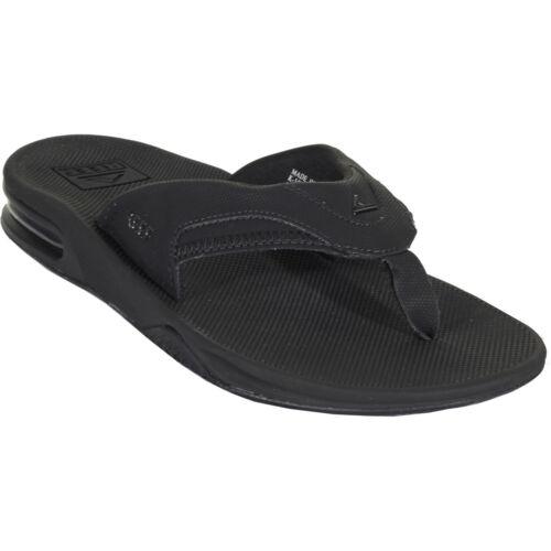 Reef Fanning Chaussures pour Homme Flip Flops-Toutes Noir Toutes Tailles