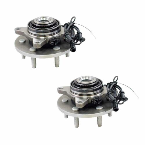 Pair Front Wheel Bearing Hub Assembly 4x4 For 2000-2006 Expedition Navigator