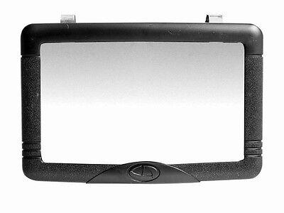 Interior Mirror for Auto-Car-Truck Clips to Sun Visor or Stick on dash, etc.