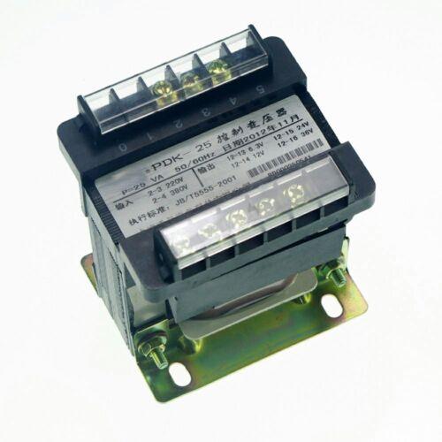 1 Input AC 220V Output AC 110V Single Phase Volt Control Transformer 25VA Power