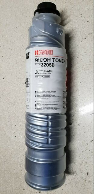 Genuine Ricoh Aficio 1035 1045 AP4510 SP-8100DN Black Toner TYPE-3205D Brand New