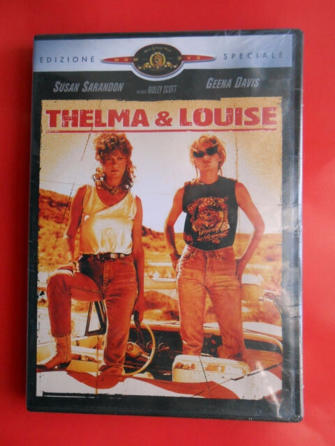 film dvd movie thelma & louise susan sarandon geena davis ridley scott brad pitt
