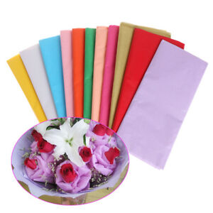 Gift Craft Wrapping Packing Tissue Paper Flower Making Origami
